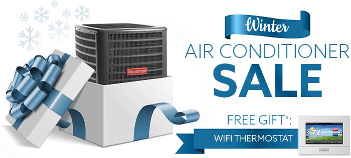 Winter Goodman Air Conditioner Sale